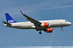 SE-DOZ Airbus A320 NEO SAS Scandinavian Airlines