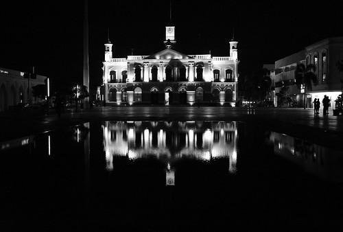 Palacio de gobiernoen Blanco&Negro
