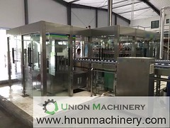 3in1 automatic alcohol bottle filling machine