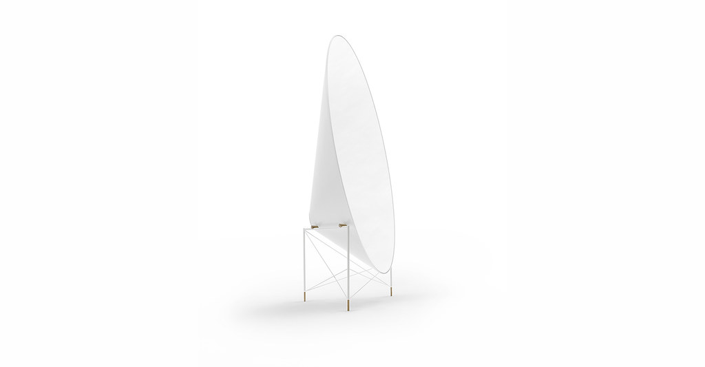 Freestanding mirror by Lithuanian architecture studio Heima for design brand jot.jot. Sundeno_07