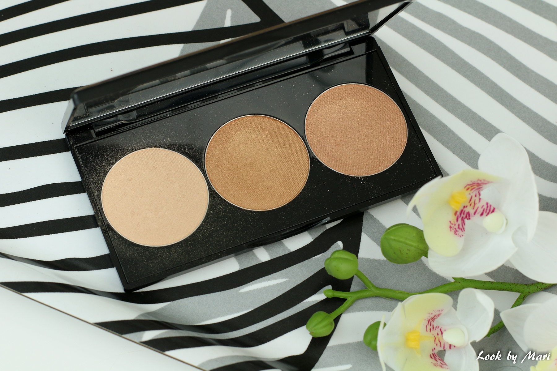 3 smashbox x casey holmes spotlight highlighting palette gold review swatches