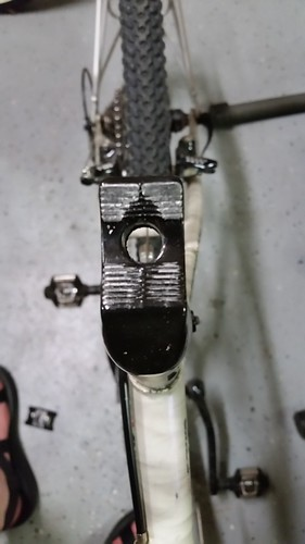 Damaged Gipiemme Seatpost