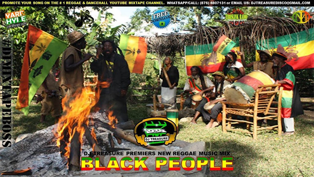 NEW REGGAE MIX (AUGUST 2017) BLACK PEOPLE - JAH CURE SIZZL