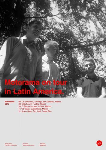 Motorama de gira por latinoamérica