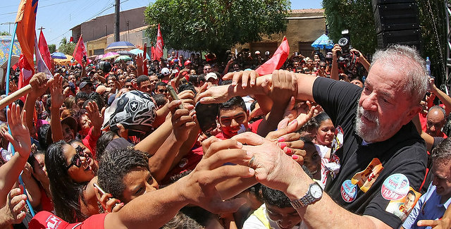 Ex presidente Lula participó de manifestación en el estado de Ceará, hace algunos meses - Créditos: Ricardo Stuckert
