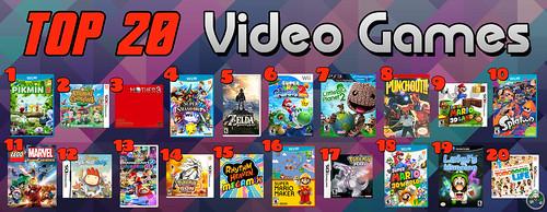 Top 20 Video Games