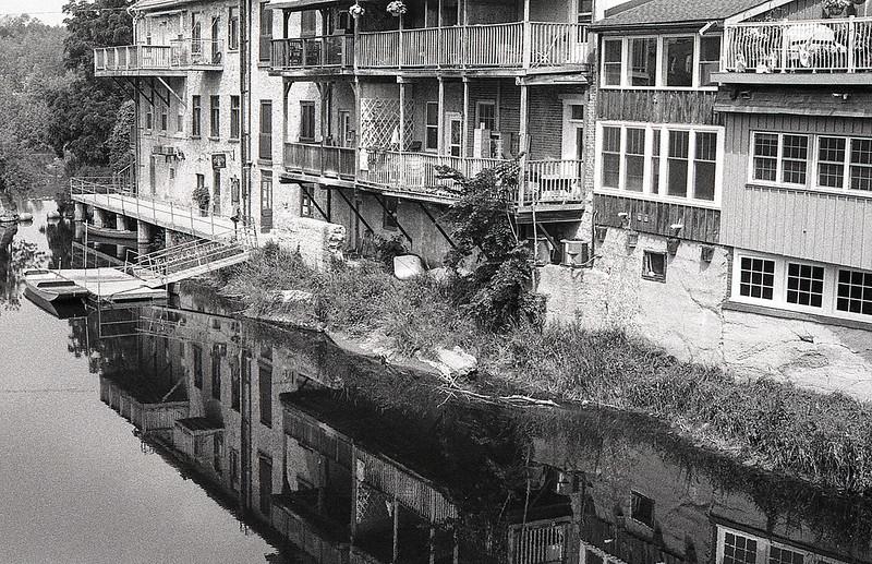 Reflected Elora Buildings