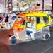 India - Goa - Palolem - Streetlife - Auto Rickshaw - 110bb by asienman