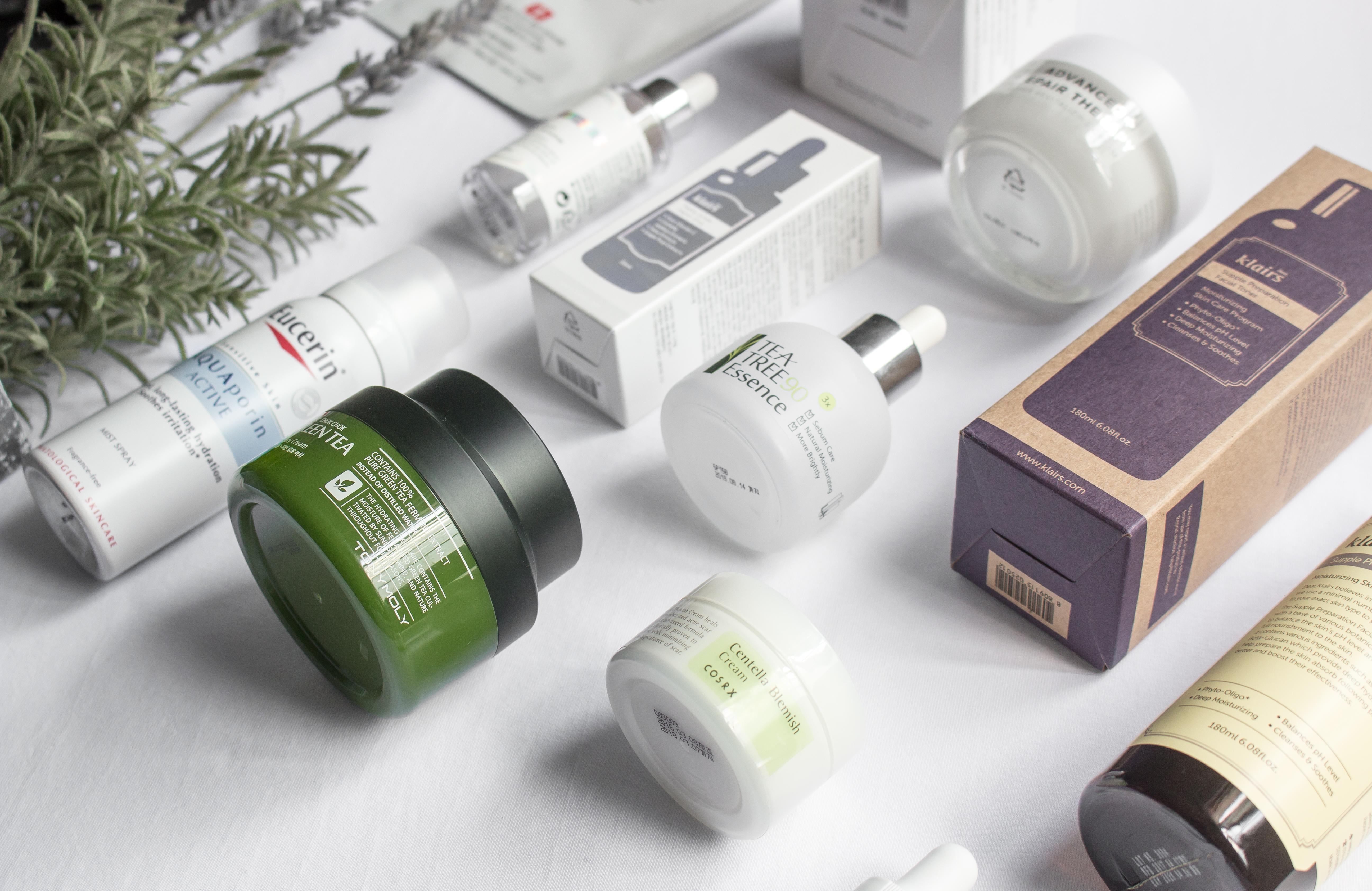 July Beauty Skincare Empties Favourites Korean Gohforit