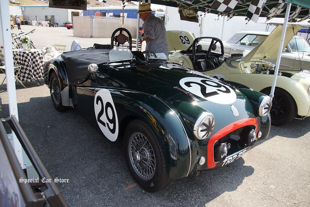 1955 Triumph TR2 No 29