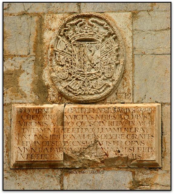 Sancho de Echevarría, Església NS de l'Eremitana, Peníscola (Castelló, España)
