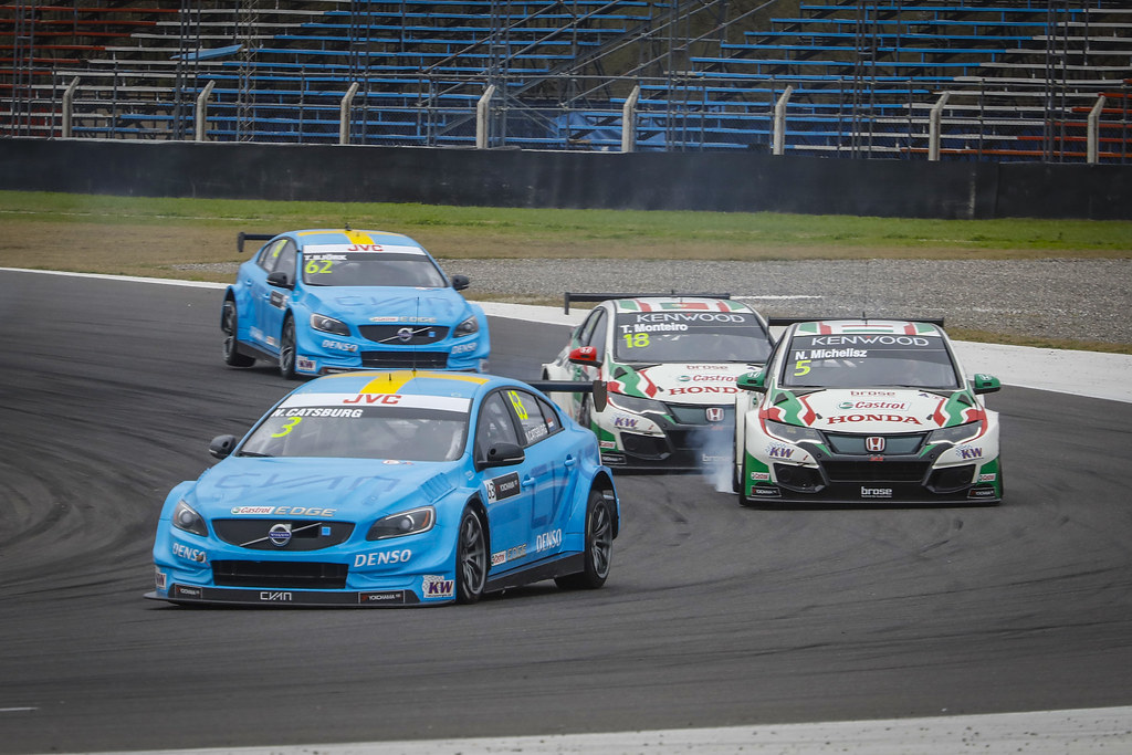63 CATSBURG Nicky (ned) Volvo S60 Polestar team Polestar Cyan Racing action during the 2017 FIA WTCC World Touring Car Race of Argentina at Termas de Rio Hondo, Argentina on july 14 to 16 - Photo Francois Flamand / DPPI