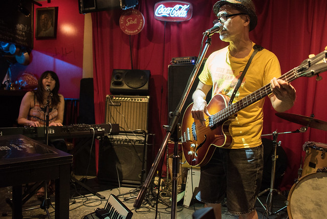 Rockin' Shoes live at Terraplane, Tokyo, 28 Jul 2017 -00211