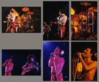 Queen live @ Greensboro - 1980