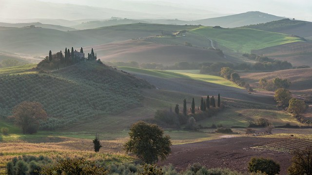 *Fascination of the Val d'Orcia*
