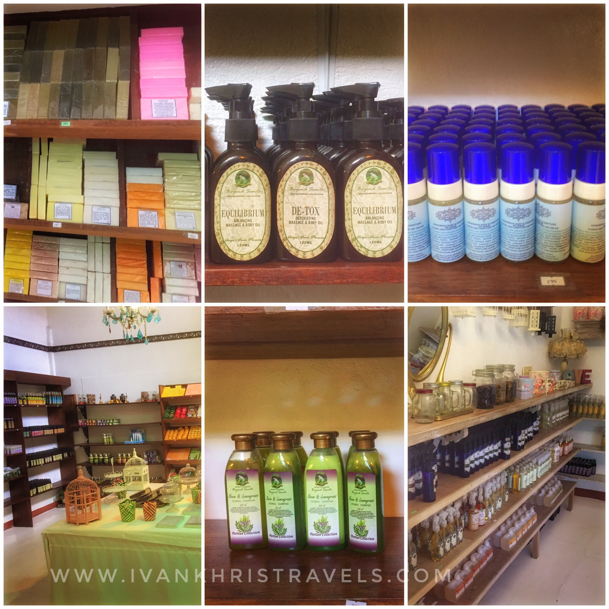 Sonya's Garden organic products shop