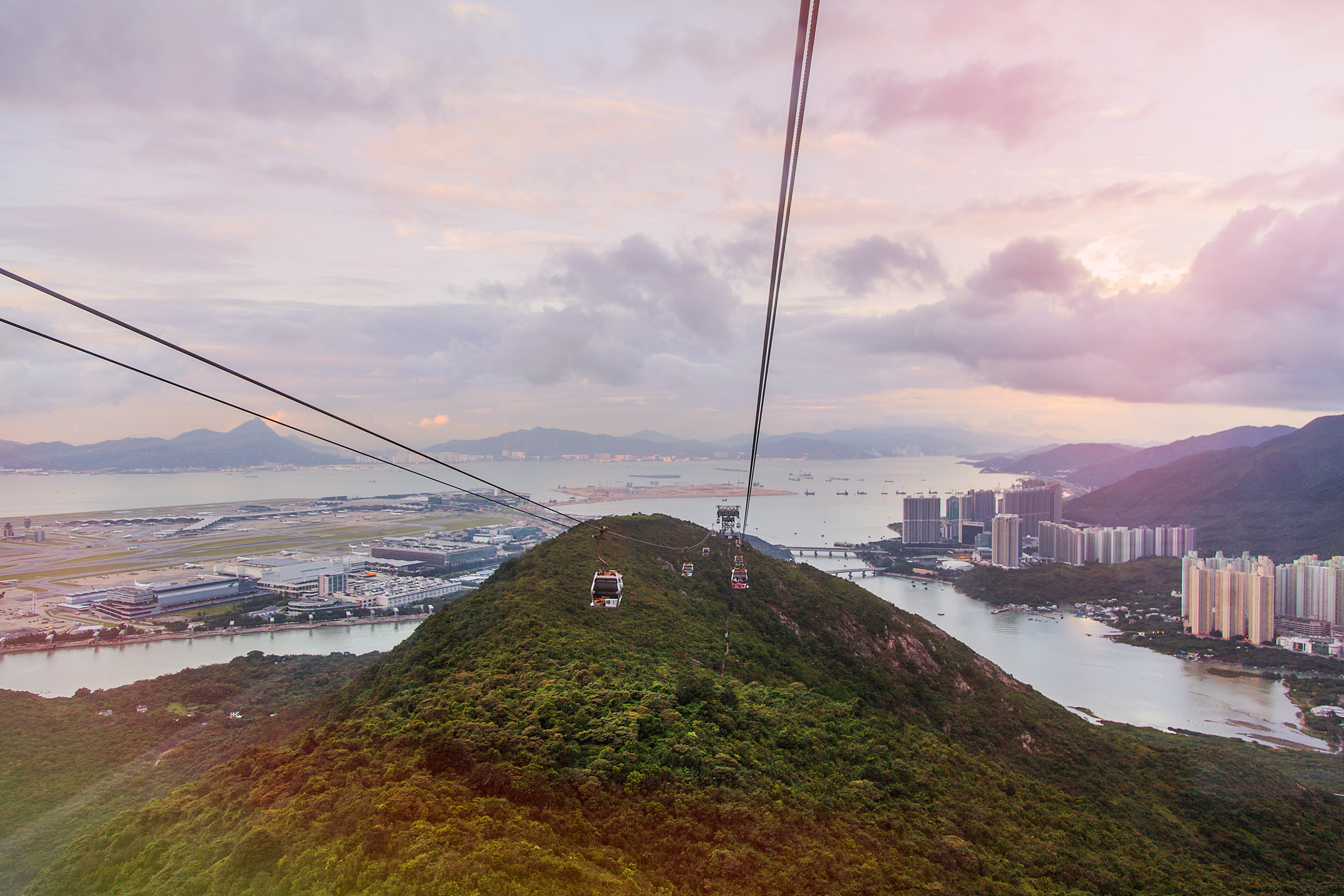 View from Ngong Ping 360