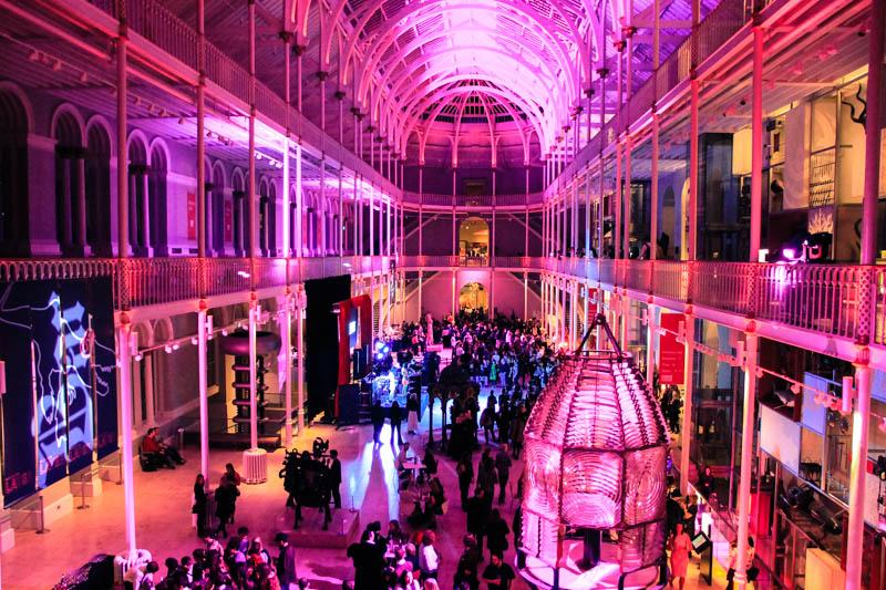 National Museum of Scotland Late Nights travel lifestyle blogger UK Edinburgh