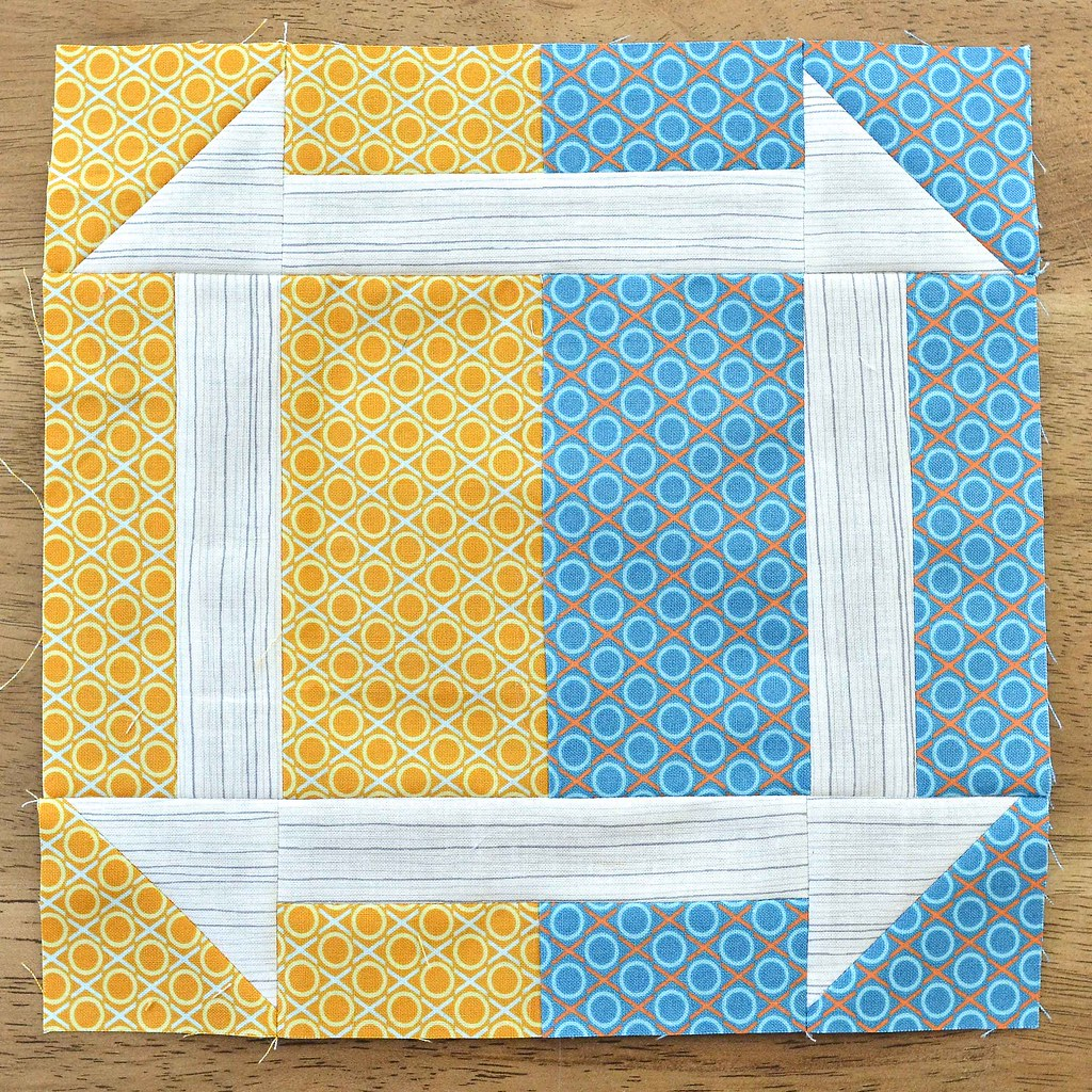 The Fussy Cut Sampler Block # 46