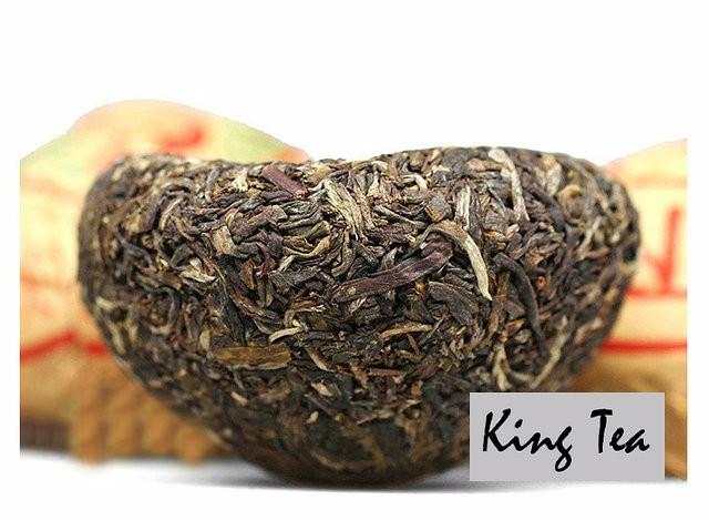 Free Shipping 2011 XiaGuan JiaJi Tuo Bowl 100g China YunNan KunMing Chinese Puer Puerh Raw Tea Sheng Cha Slim Beauty Weight Loss