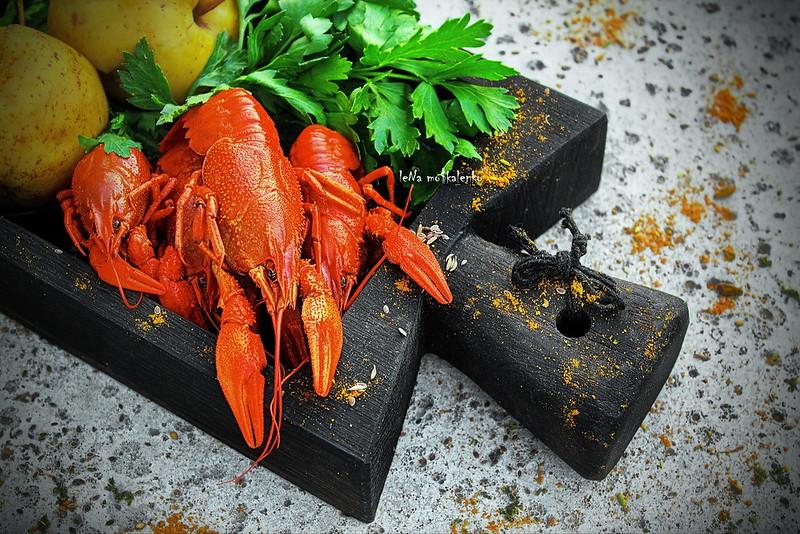 ...Pilaf recipe for boiled crawfish