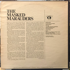 THE MASKED MARAUDERS:THE MASKED MARAUDERS(JACKET B)