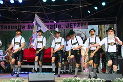 Europa, Deutschland, Berlin, Sch�neberg, Motzstra�enkiez, Eisenacher Stra�e, Lesbisch-schwules Stadtfest 2017, Querplattler