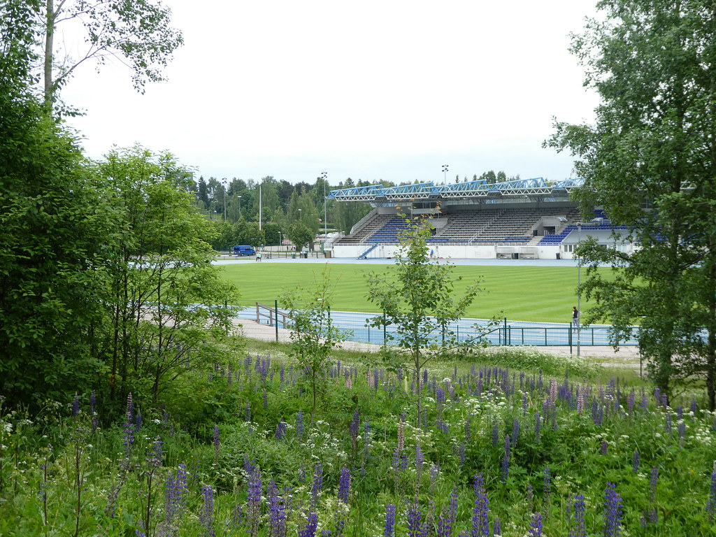 Leppävaara Athletics Stadium, Espoo