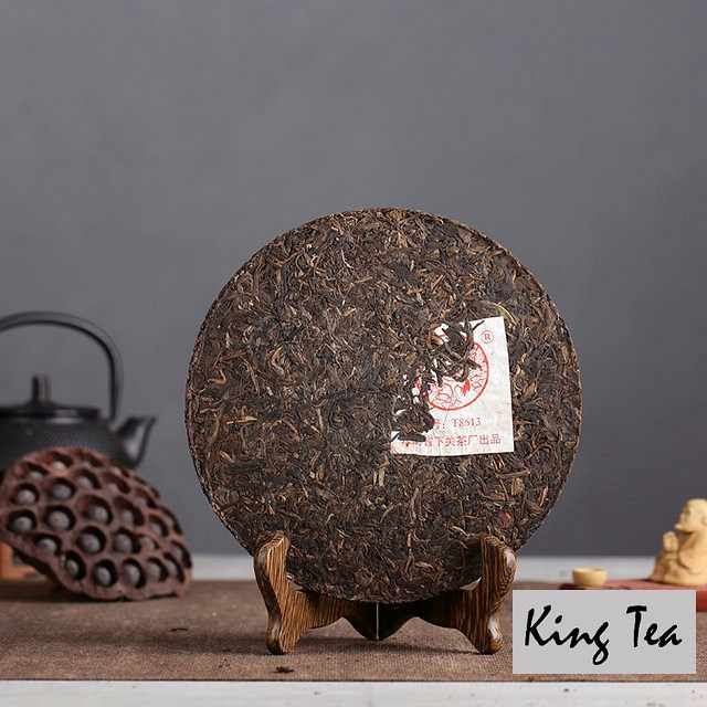 Free Shipping 2005 XiaGuan T8613 Beeng Cake 357g China YunNan Chinese Puer Puerh Raw Tea Sheng Cha Weight Loss Slim Beauty