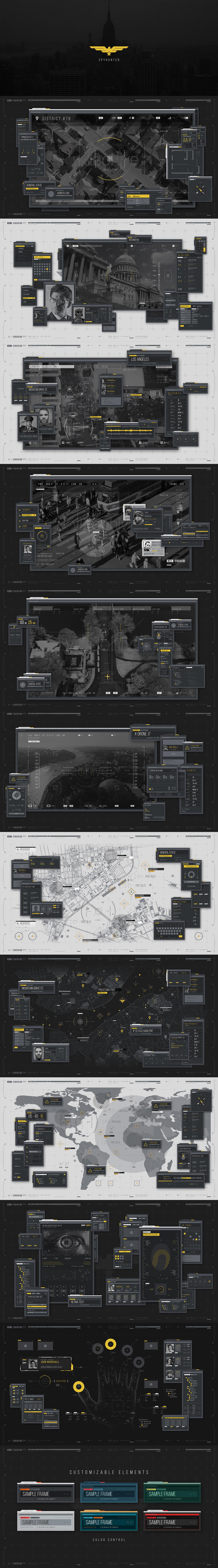 35945967936_99db337b48_o AE模板:HUD高科技信息图表目标定位科幻界面动态元素合集 免费下载