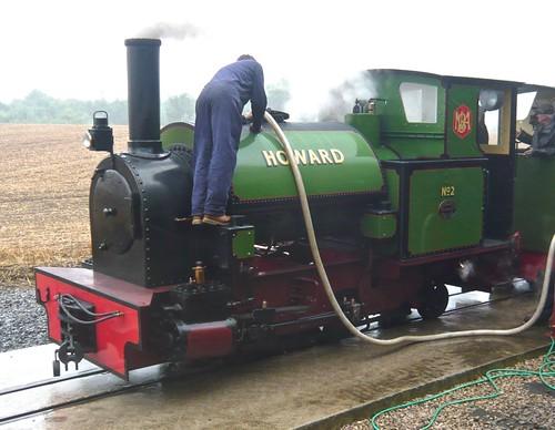 'Howard No. 2' 0-4-2T at the 'Statfold Barn Railway' on 'Dennis Basford's railsroadsrunways.blogspot.co.uk