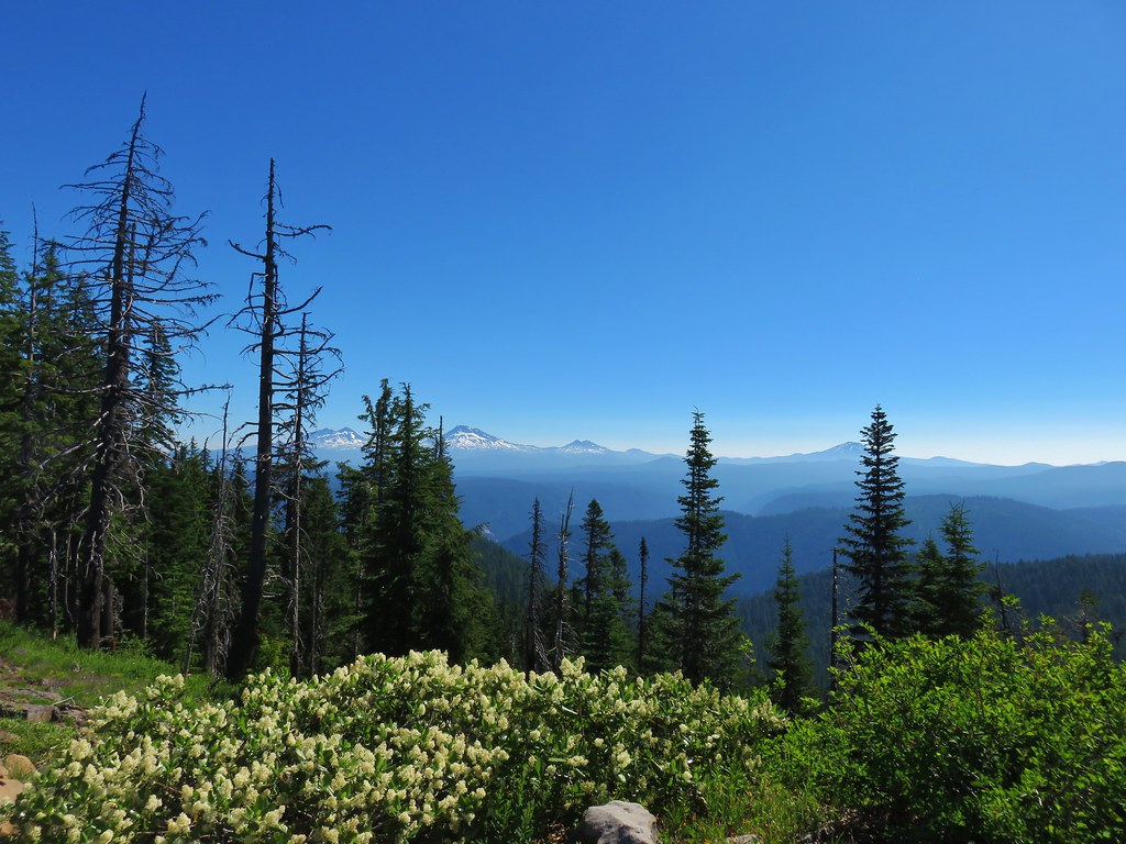 The Three Sisters, Broken Top and Mt. Bachelor