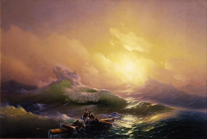 Ivan Konstantinovich Aivazovsky - The Ninth Wave (1850)