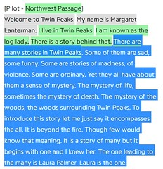 New #TwinPeaks things you might have missed video coming out in a few hours. This is the Log Lady's intro that was shot for the Pilot episode. . . . #davidlynch #markfrost #twinpeaksthereturn #newtwinpeaks #twinpeaksshowtime #searchforthezone #petepeppers