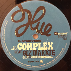 MR.COMPLEX:GLUE(LABEL SIDE-A)