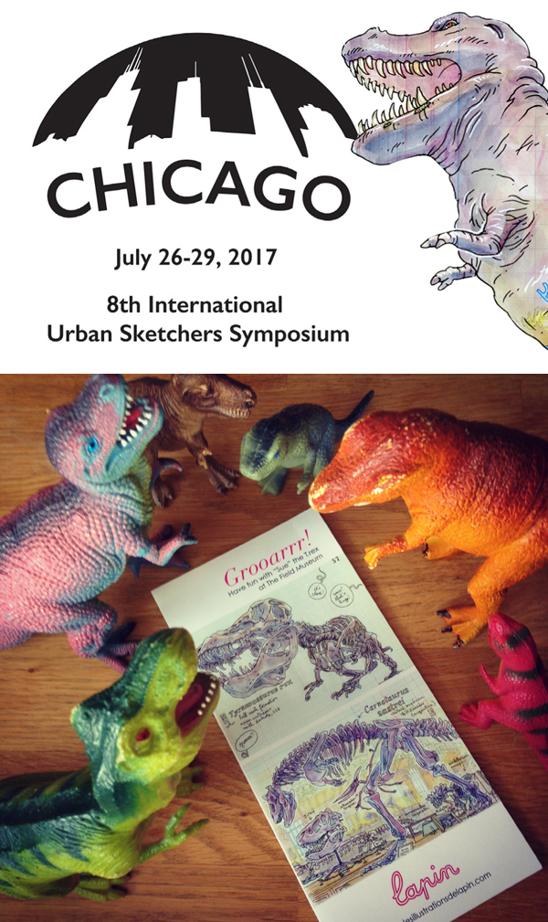 urban sketching symposium in chicago