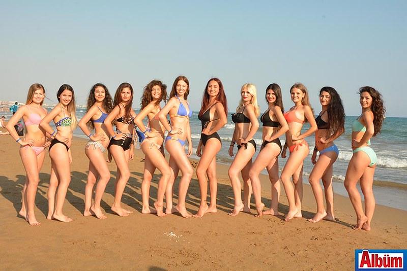 Miss Mediterranean 2017 Finalistleri Side'de -1
