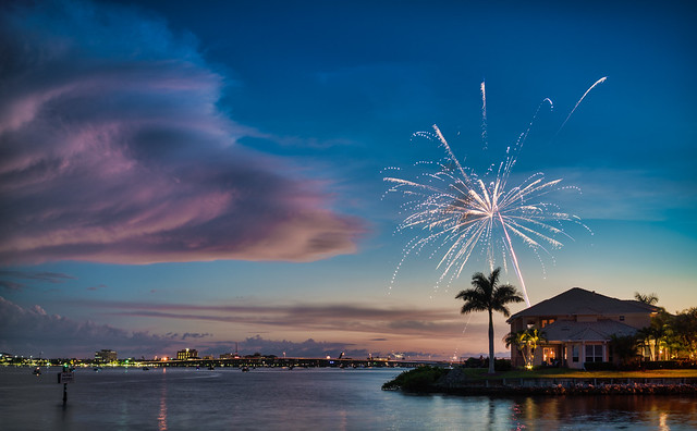 Private Fireworks, Sony ILCE-7RM2, Sony FE 35mm F2.8 ZA