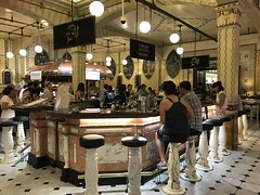 Caviar Bar,  Harrod's Food Hall