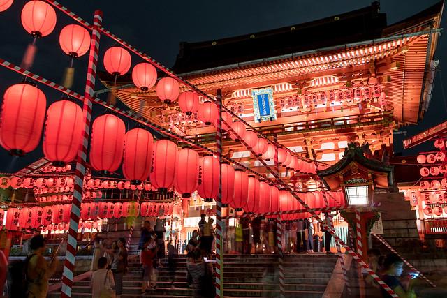 Fushimi Inari Taisha Shrine(伏見稲荷大社、万灯祭), RICOH PENTAX K-S2, HD PENTAX-DA 21mm F3.2 ED AL Limited