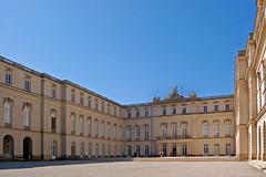 Chiemsee - Herrenchiemsee (22) - Schloss Herrenchiemsee - R�ckseite