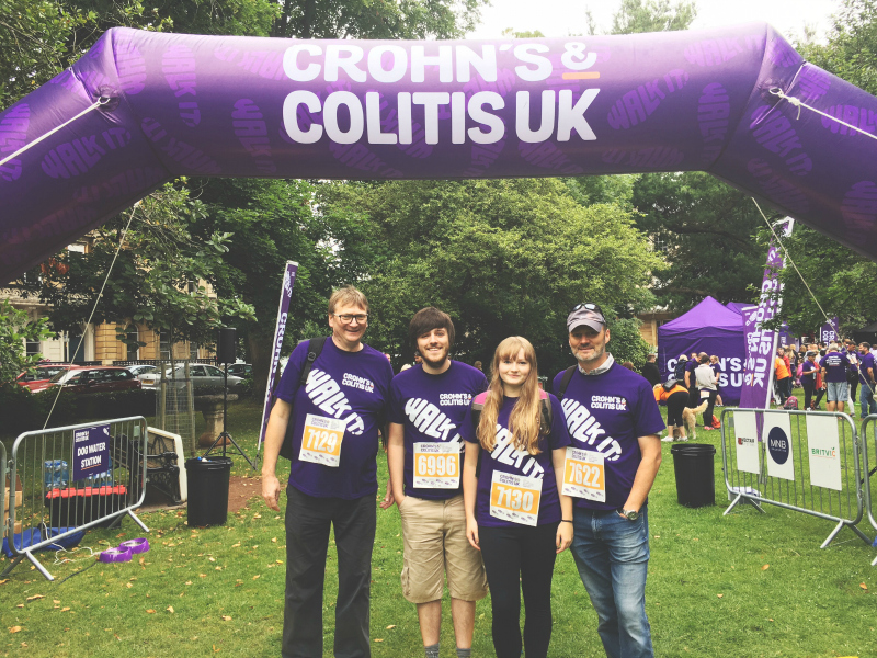 crohns and colitis uk just giving blogger uk