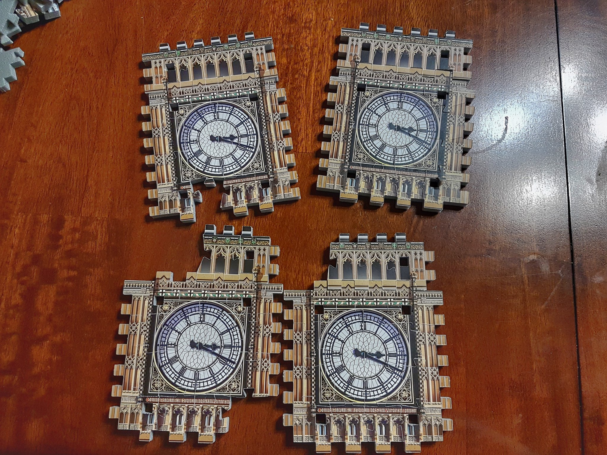 3D Puzzle London Clocks