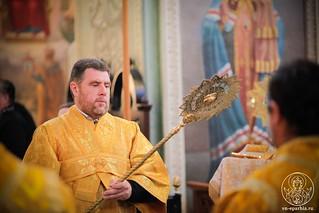 Литургия в Иверском монастыре 245
