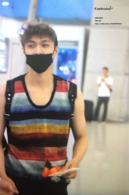 170730 Lay at Incheon Airport to Shanghai