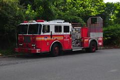 FDNY Bureau of Training Engine