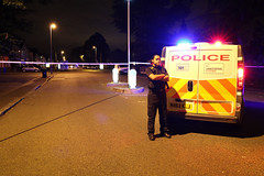 MAN SHOT IN THE MIDDLE OF A BUSY ROAD IN WITHINGTON, MANCHESTER