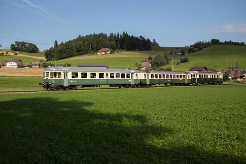 Verein Pendelzug Mirage auf Extrafahrt bei Rohrbach