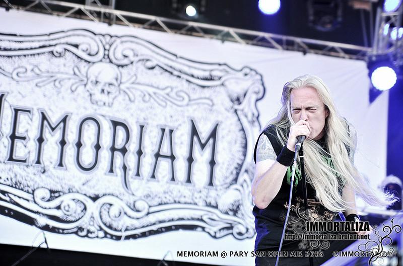 MEMORIAM @ PARTY SAN OPEN AIR 2016 Metal Open Air Schlotheim - Germany 36207426835_400549622b_c