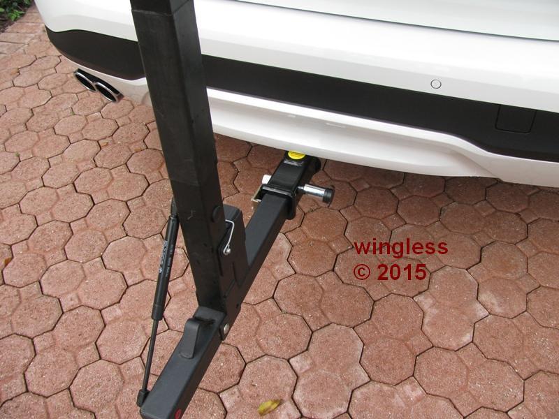 Rear 3 Bike High Carrier Car Rack To Fit Bmw X3 F25 Suv 11-16